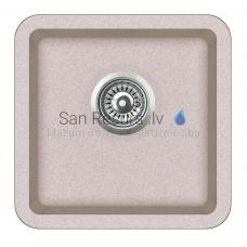 Aquasanita akmens masas virtuves izlietne ARCA 400 Ora 38x38 cm