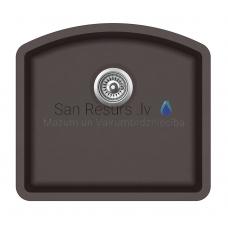 Aquasanita akmens masas virtuves izlietne ARCA 500 Cerrus 58.5x53.5 cm