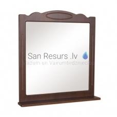 Aqua Rodos Classic  65 Spogulis ar plauktu (rieksts)