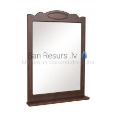 Aqua Rodos Classic  80 Spogulis ar plauktu (rieksts)