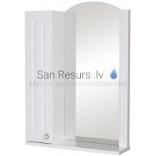 Aqua Rodos Classic  60 (L) Spoguļskapis (balts)