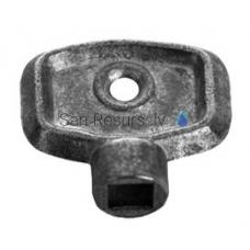 Radiatora uzgriežņu atslēga, alumīnijs
