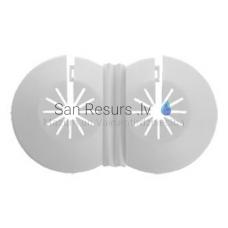 Radiatora kontaktligzda 5-22 (balts)