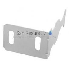 Leņķa āķis-stiprinājums alumīnija radiatora montāžai (1.5 mm biezums) cinkots