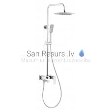 KFA vannas jaucējkrāns ar dušas komplekts-sistēma LOGON