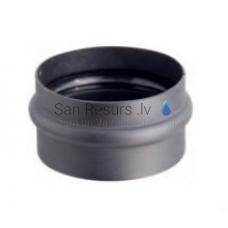Darco dūmvadu melnā tērauda skursteņa kondensācijas revīzijas korķis DN80