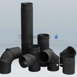 Dūmvadu sistēma no melnā tērauda Black Steel