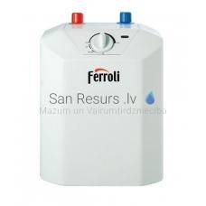 Ferroli ūdens sildītājs NOVO  5 litri (virs izlietnes)