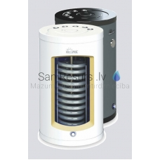 KOSPEL ūdens sildītājs ar siltummaini SWK-140.A GRAPHITE Termo Top 134 litri 32kW (vertikāls)