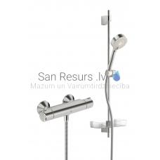 Oras termostata dušas jaucējkrāns ar dušas komplektu NOVA