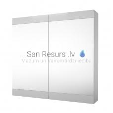 RB SERENA RETRO 75 spoguļskapītis (spīdīgi balts) 700x750x140 mm