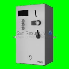SANELA monētu un žetonu automāts 4-12 dušām, interaktīvā vadība, automātiska dušas izvēle
