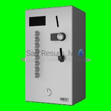 SANELA monētu un žetonu automāts 2-8 vai dušām, interaktīvā vadība, dušu izvēlas lietotājs