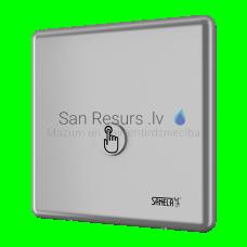 SANELA dušas vadības sistēma ar pjezopogu - aukstam vai iepriekš sagatavotās temperatūras ūdenim
