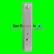 SANELA nerūsējošais RFID žetonu dušas panelis, aukstam un siltam ūdenim, 24 V