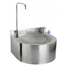 SANELA nerūsejošā tērauda dzeramā ūdens strūklaka SLUN 62S