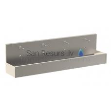SANELA nerūsejošā tērauda elektriskā izlietne ar termostatisko jaucējkrānu SLUN 82ET