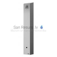 SANELA nerūsejošā tērauda dušas panelis ar infrasarkano sensoru SLSN 01EB 6V