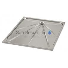 SANELA nerūsejošā tērauda dušas paliktnis SLSN 06  700x700