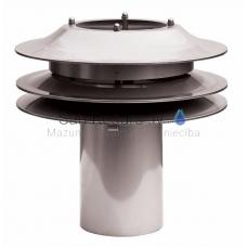 Smartflow vilkmes regulators dūmvadam 100 mm