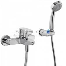 FLAT-TRES vannas jaucējkrāns ar dušu
