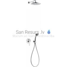 FLAT-TRES zemapmetuma dušas sistēmas komplekts FLAT