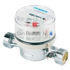 Zenner ūdens skaitītājs ETKD ½'' 110mm 2.5m³/h 30°C ar stiprinājumiem