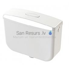 KKPOL skalojamā kaste WC podam ar stop funkciju 8 litri 330 x 430 x 155