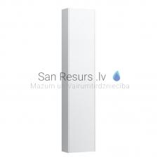 Augstais skapis Base, 350x180 mm, h=1650 mm, 1D, labā puse, balts