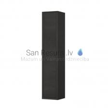 Augstais skapis The New Classic, 320x320 mm, h=1600 mm, 1D, labā puse, blacked oak