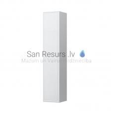 Augstais skapis The New Classic, 320x320 mm, h=1600 mm, 1D, labā puse, spīdīgi balts