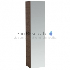 Augstais skapis Alessi One, 400x300 mm, h=1700 mm, 1D, noce canaletto