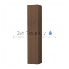 Augstais skapis Ino, 360x305 mm, h=1800 mm, 1D, kreisā puse, dark walnut