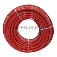 Tweetop PERT/AL/PERT daudzslāņu caurule ar izolāciju 9mm DN 16x2 (cena par 1 metru) sarkans